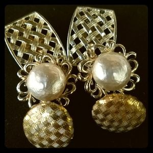 80's Costume Clip on Earrings